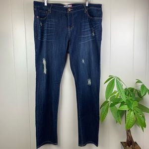 CAbi | Slim Boyfriend Jeans Size 16